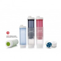 portable water filter bottle